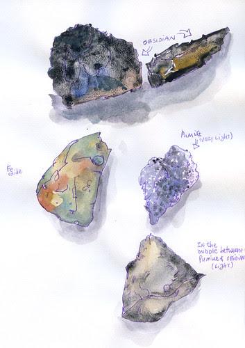 July 2011: Rocks by apple-pine
