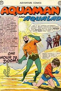 Adventure #282 Aquaman Splash Page