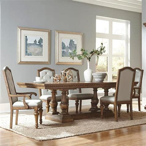 stratton  piece dining set nebraska furniture mart