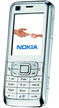 Nokia 6120 classic 3G GSM Cell Phone - Pearl White