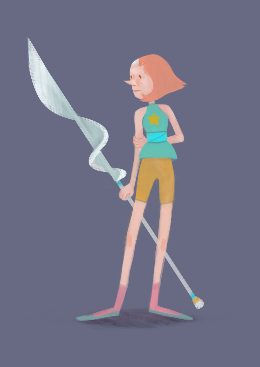 Pearl from steven universe :)