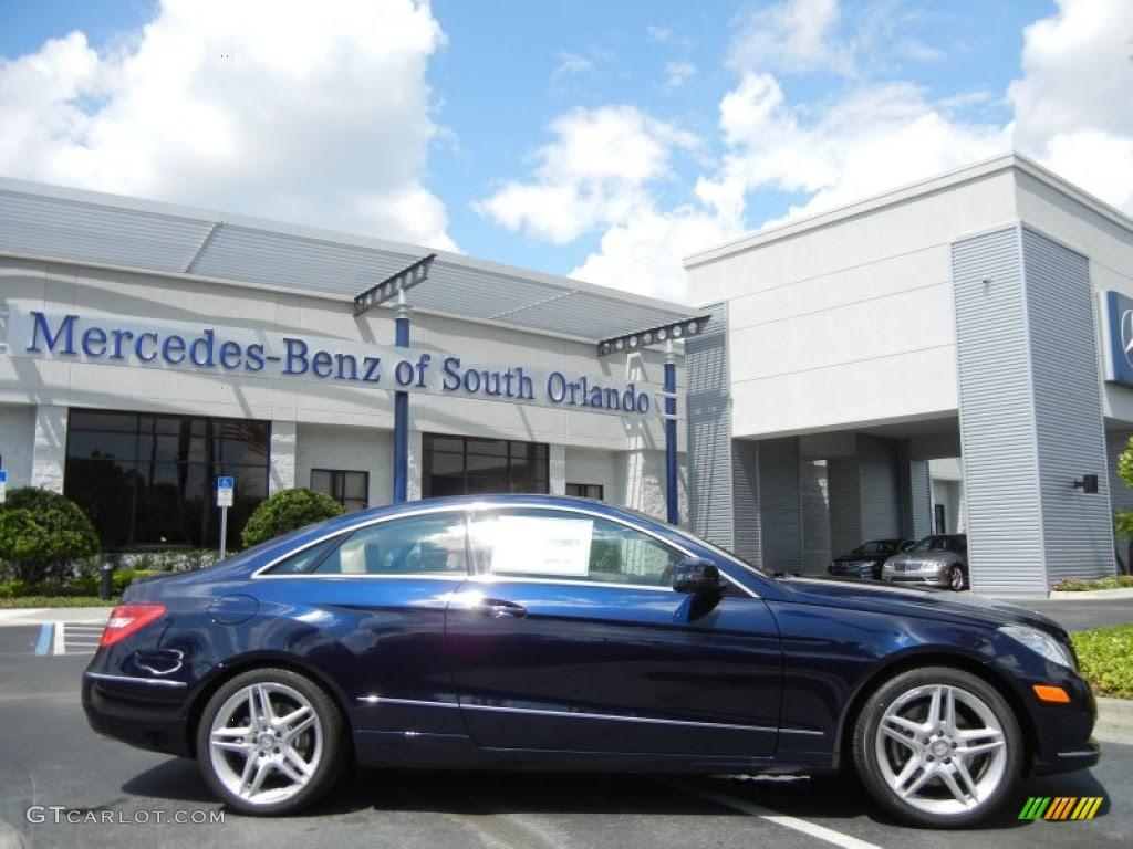Mercedes Benz Lunar Blue Metallic