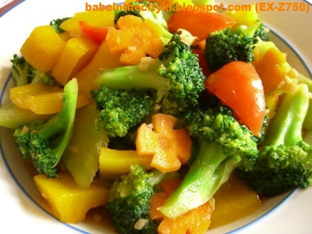 stir fried brocolli