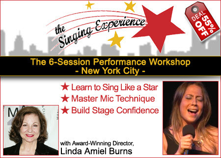The Singing Experience Offer - Industry Deal Entertainment Industry