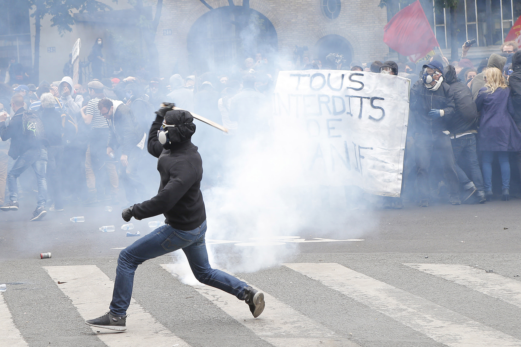 France Labor Protests