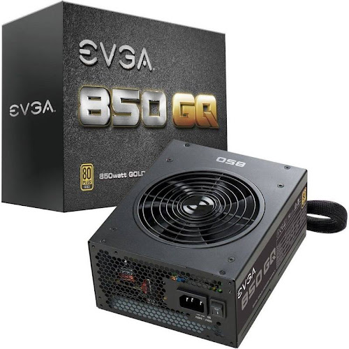 EVGA 850 GQ Power Supply - 80 PLUS Gold - 850W