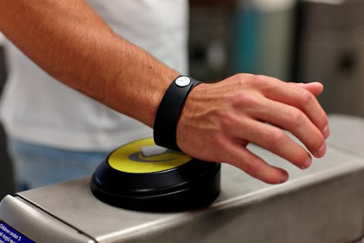 Cashless society 'beckons' as Barclaycard unveils payment wristband for TfL's contactless roll-out