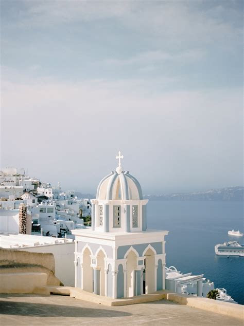 Grecian Wedding Inspiration in Santorini   Bajan Wed