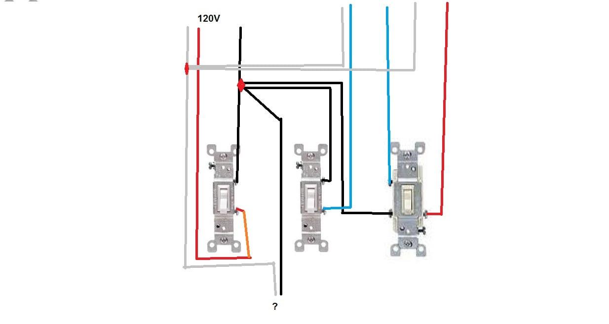 3 gang electrical box wiring diagram image 5