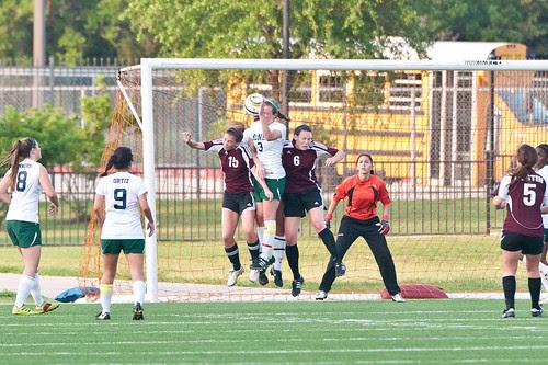 McNeil girls soccer vs Austin High 2Apr2012 b_9860 by 2HPix.com - Henry Huey