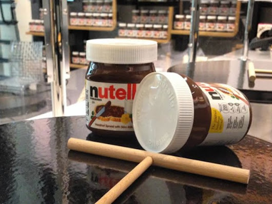 Nutella Bar Opens Monday With FREE Nutella