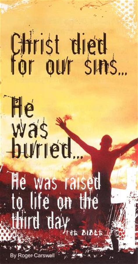 Christ died for our sins tract ? Day One Publications