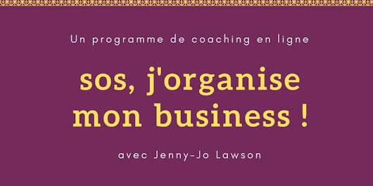 SOS j'organise mon business
