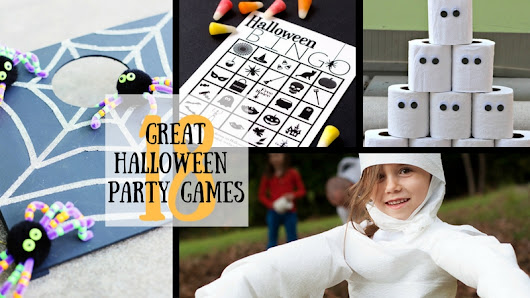 18 Great Halloween Party Games