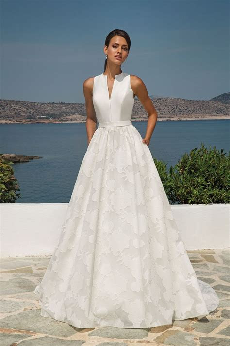 Style 8924: Organza Jacquard Ball Gown with Sleeveless