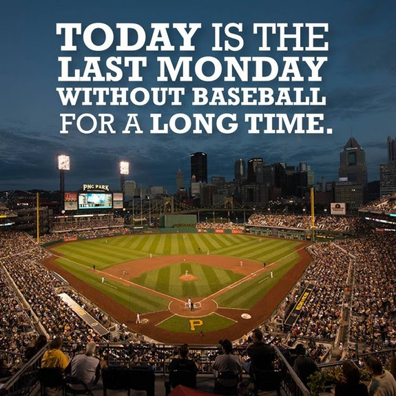 Last monday without baseball