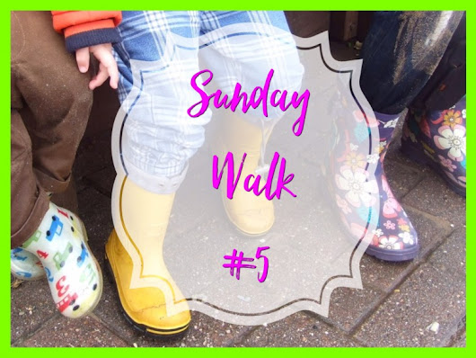 Making Rainbows A Sunday Walk - Confessions of a Slummy Mummy