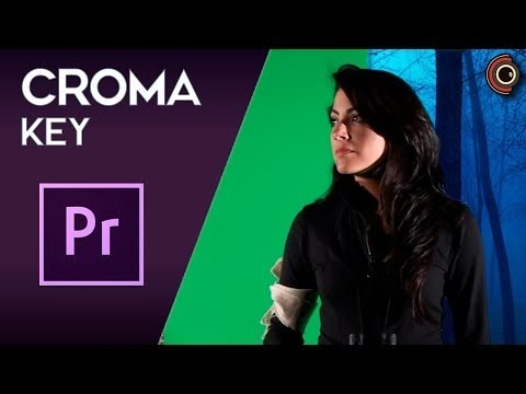 Tutorial de Adobe Premiere CC - Croma key / Chroma key