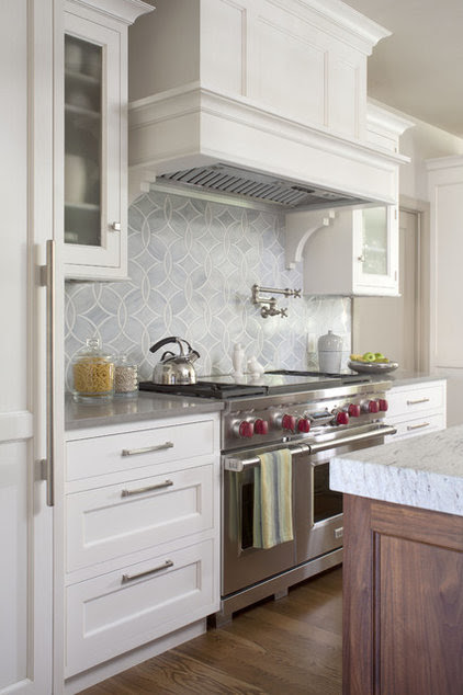 transitional kitchen by Exquisite Kitchen Design