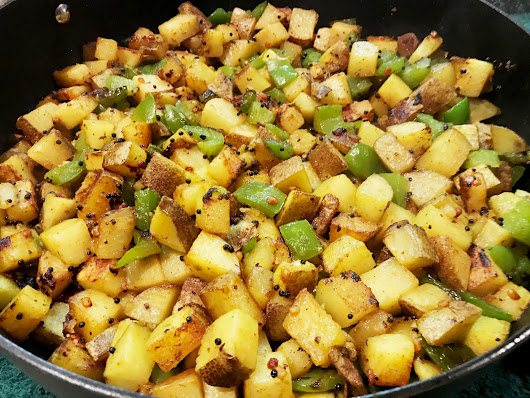 Yummy Spicy Potato Stir Fry - Versatile Foodie