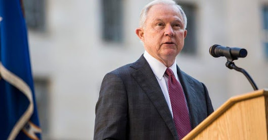 Jeff Sessions Slams Marijuana Legalization (Again)