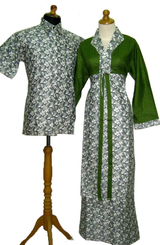 Baju  Batik Muslim  Sarimbit Modern Baju  Muslim Sarimbit