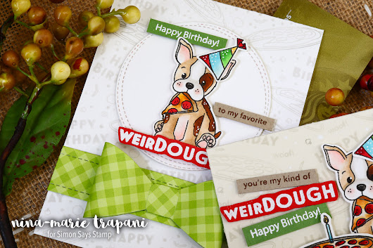 Studio Monday with Nina-Marie: Puperoni Gift Cards - Simon Says Stamp Blog
