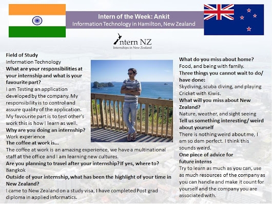 Intern of the Week