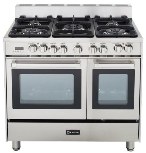 Top selection of 36 gas ranges for 2014