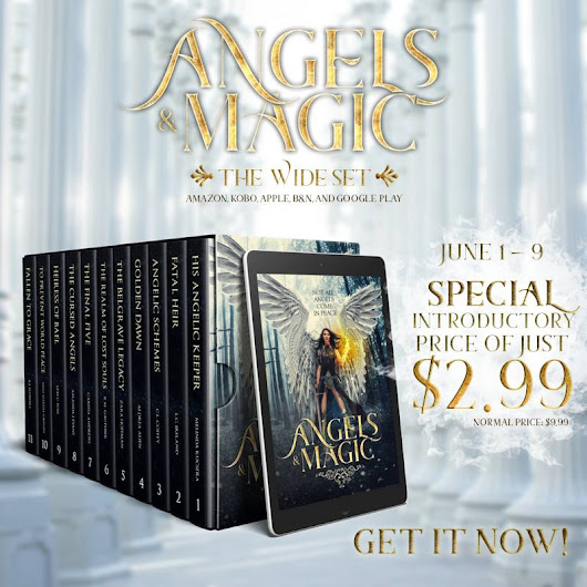 Angels & Magic Is Here - Limited Edition Angel Fantasy Novels