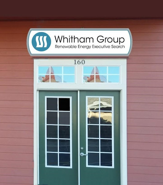 #1 Renewable Energy Headhunting firm Whitham Group Leads the Scene and Keeps it Green