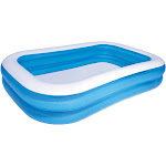 Bestway Inflatable Rectangular Family Pool, Blue