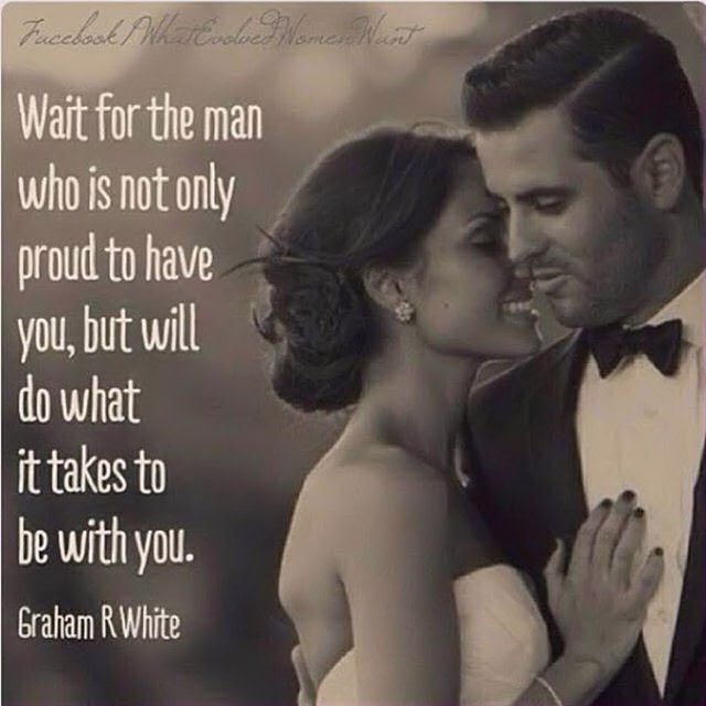 Wait For The Right Man Pictures Photos And Images For Facebook