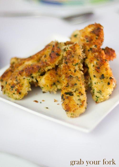 fried angel fish fillet