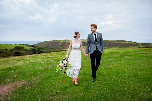 East Soar Farm Wedding Devon | Devon wedding photographer