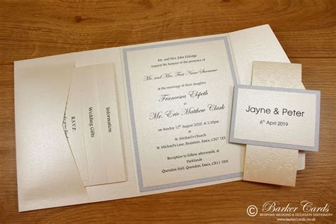 Barker Cards Weddings, Funerals, Occasion Stationery and