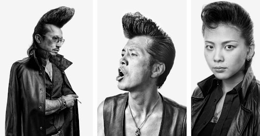 Portraits of Tokyo Roller-Zoku Gangs by Denny Renshaw