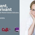 Masterclasse de Camille Laurens animée par Céline du Chéné en public à la BNF - François Mitterrand à Paris