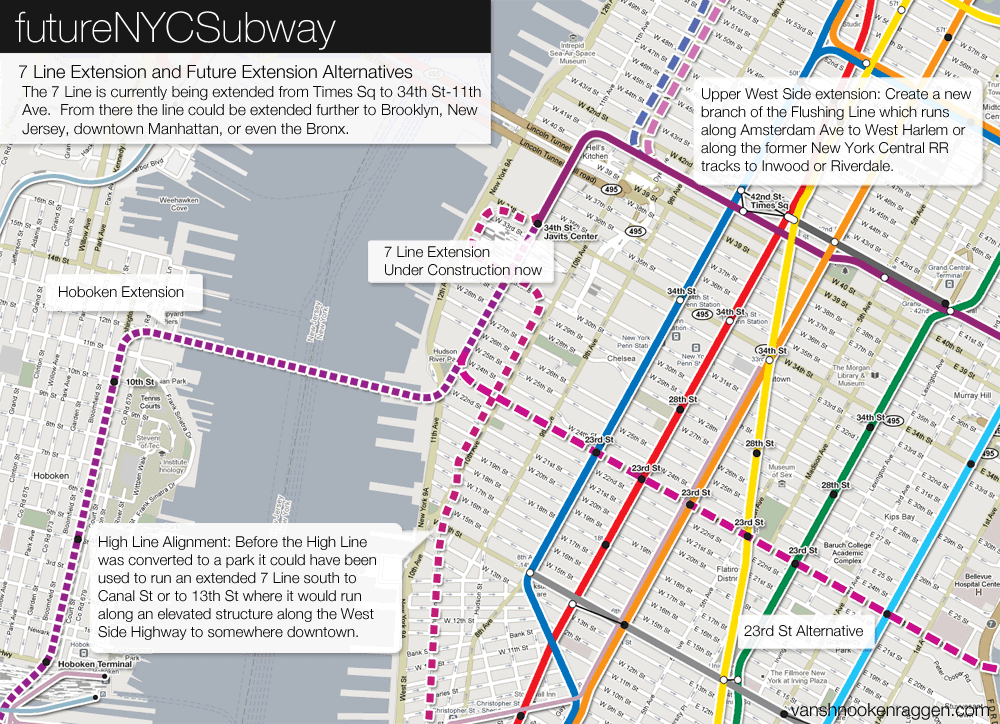 Nyc Subway Map 7 Train Extension.Time Zones Map Nyc Subway Map 7 Train Extension