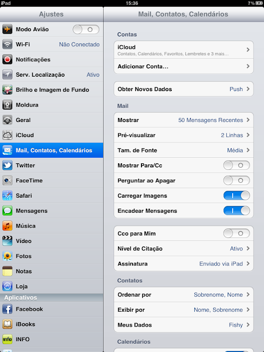 Como configurar o e-mail no IOS (Iphone/Ipad) - Hospedagem de sites