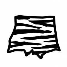 鬼のパンツシルエット イラストの無料ダウンロードサイトシルエットac