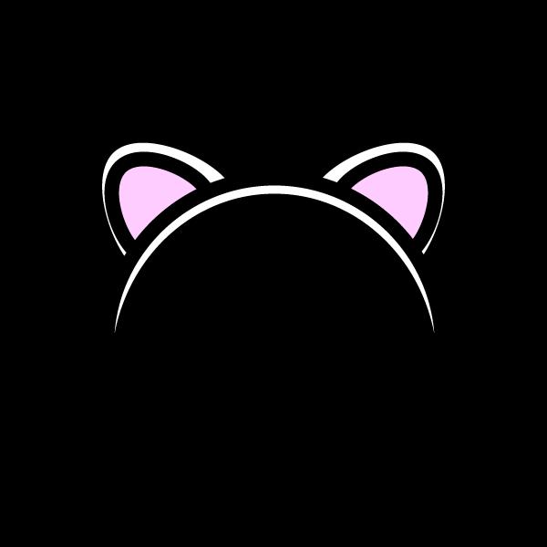 かわいい猫耳の無料イラスト商用フリー オイデ43