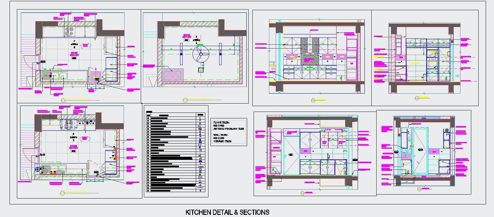 simple autocad kitchen design  download autocad