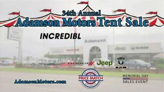 2017 Adamson Motors Tent Event Chrysler