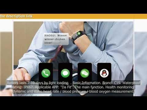 Fitness Bracelet C1S Smart Watch For Sport PK Mi Band 4