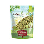 Organic Green Lentils Whole, 5 Pounds - by Food to Live