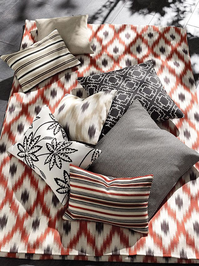 Osborne & Little Outdoor/indoor fabrics - Ionia www.osborneandlittle.com