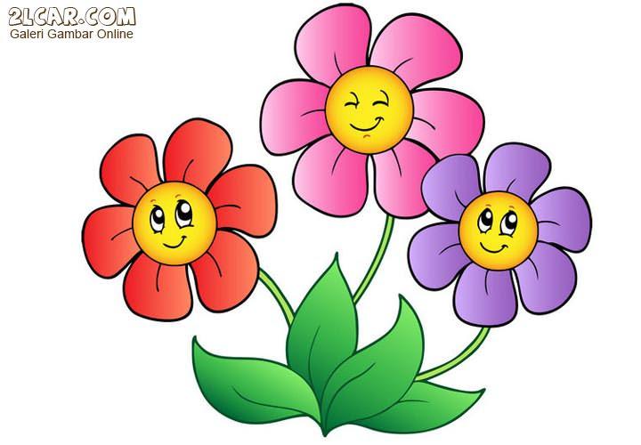 Gambar  Bunga  Kartun  Toko FD Flashdisk Flashdrive
