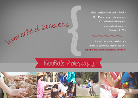 Homeschool Sessions, Revamped | KariBelle Photography