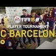 Funny Video Of FIFA 15 - FC Barcelona Player Tournament - Messi, Neymar, Alves, Piqué, Alba, Rakitić, Bartra, Munir